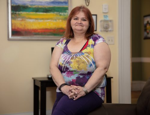 Tammy Is Approaching Her Goal: HOME
